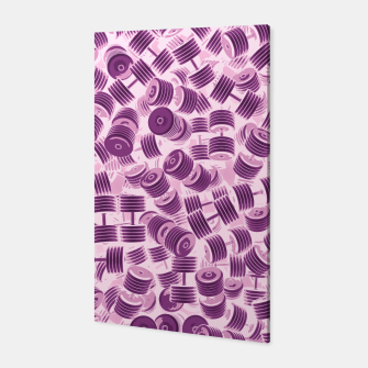 Thumbnail image of Dumbbell Camo PINK Canvas, Live Heroes