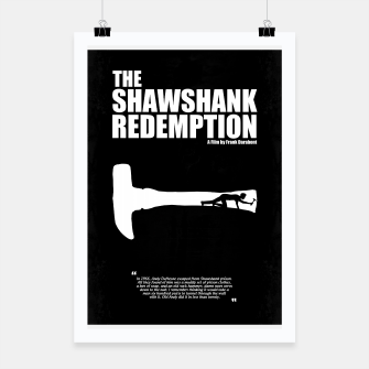 Thumbnail image of The Shawshank Redemption - A Minimal Movie Poster. A Film by Frank Darabont. Poster, Live Heroes