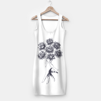 Thumbnail image of Hand with lotuses Simple Dress, Live Heroes