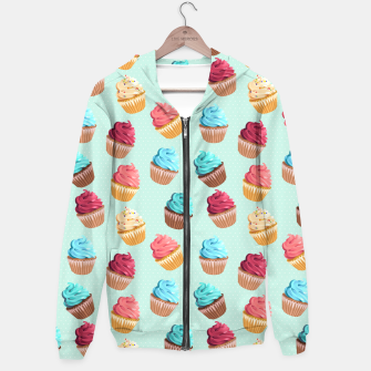 Thumbnail image of Cup Cakes Party Kapuzenpullover, Live Heroes