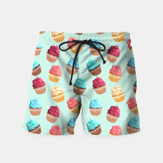 Thumbnail image of Cup Cakes Party Badeshorts, Live Heroes