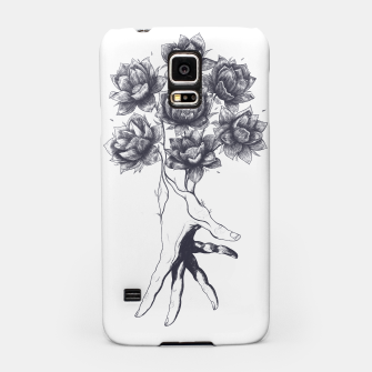 Thumbnail image of Hand with lotuses Samsung Case, Live Heroes