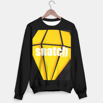 Thumbnail image of Snatch. Minimal Movie Poster - A Guy Ritchie Film. Sweater regular, Live Heroes