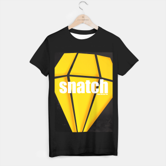 Thumbnail image of Snatch. Minimal Movie Poster - A Guy Ritchie Film. T-shirt regular, Live Heroes
