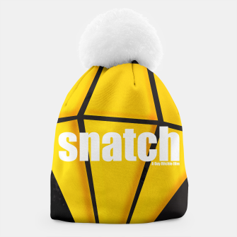 Thumbnail image of Snatch. Minimal Movie Poster - A Guy Ritchie Film. Beanie, Live Heroes