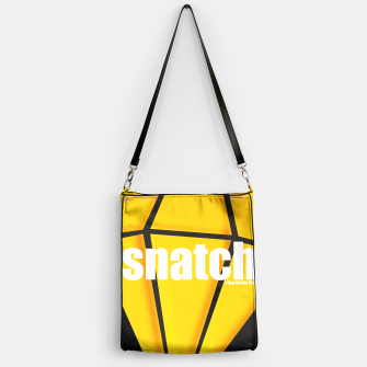 Thumbnail image of Snatch. Minimal Movie Poster - A Guy Ritchie Film. Handbag, Live Heroes