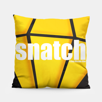 Thumbnail image of Snatch. Minimal Movie Poster - A Guy Ritchie Film. Pillow, Live Heroes