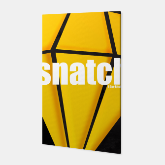 Thumbnail image of Snatch. Minimal Movie Poster - A Guy Ritchie Film. Canvas, Live Heroes