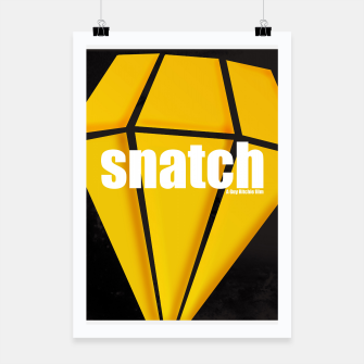 Thumbnail image of Snatch. Minimal Movie Poster - A Guy Ritchie Film. Poster, Live Heroes