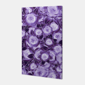 Purple Flush Canvas Bild der Miniatur