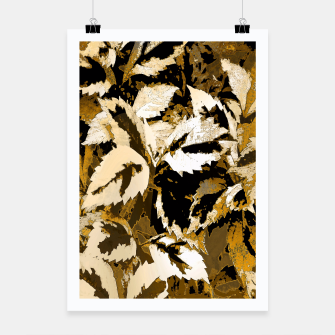 Thumbnail image of More Lovely Leaves, Sienna Poster, Live Heroes