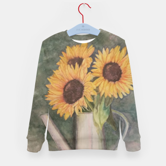Thumbnail image of HAPPY SUNFLOWERS Kid's Sweater, Live Heroes