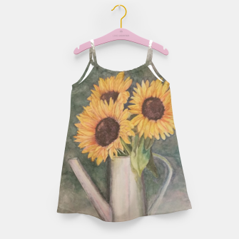 Thumbnail image of HAPPY SUNFLOWERS Girl's Dress, Live Heroes