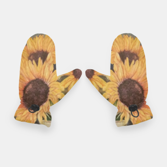 Thumbnail image of HAPPY SUNFLOWERS Gloves, Live Heroes
