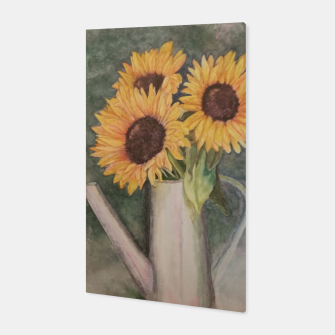 Thumbnail image of HAPPY SUNFLOWERS Canvas, Live Heroes