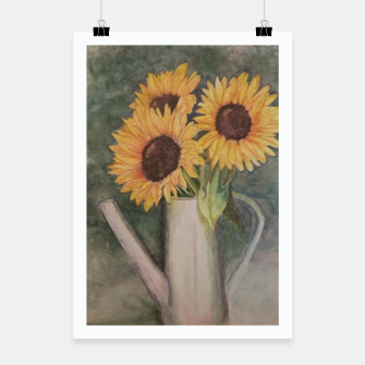 Thumbnail image of HAPPY SUNFLOWERS Poster, Live Heroes