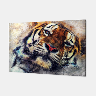Thumbnail image of tiger face Canvas, Live Heroes