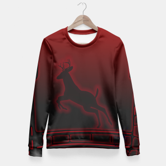 Thumbnail image of Deer Fitted Waist Sweater, Live Heroes