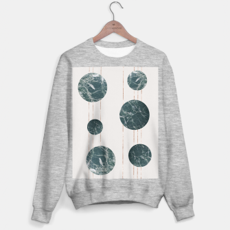 Thumbnail image of Marble Circles with Golden Stripes Sweater regular, Live Heroes