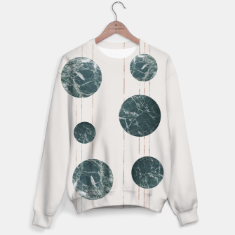 Thumbnail image of Marble Circle with Golden Stripes Sweater, Live Heroes