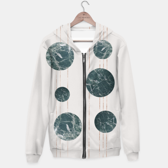 Thumbnail image of Marble Circle with Golden Stripes Hoodie, Live Heroes