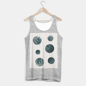 Thumbnail image of Marble Circle with Golden Stripes Tank Top regular, Live Heroes
