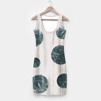 Thumbnail image of Marble Circle with Golden Stripes Simple Dress, Live Heroes