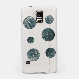 Thumbnail image of Marble Circle with Golden Stripes Samsung Case, Live Heroes