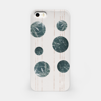 Thumbnail image of Marble Circle with Golden Stripes iPhone Case, Live Heroes