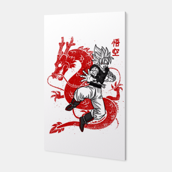 Thumbnail image of Japan Dragon white Canvas, Live Heroes