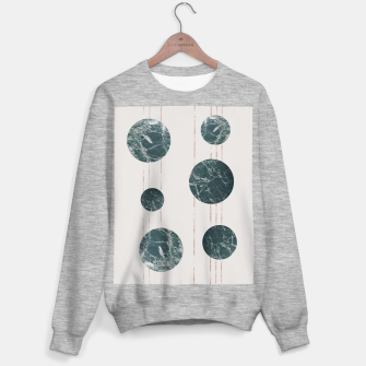 Thumbnail image of Marble Circle with Golden Stripes Sweater regular, Live Heroes