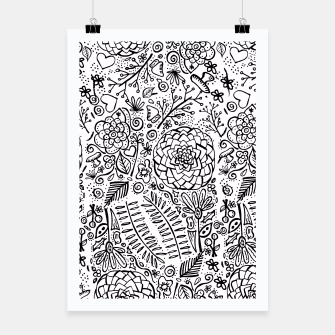 Thumbnail image of Doodle floral Cartel, Live Heroes