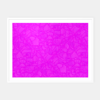 pink Framed poster thumbnail image