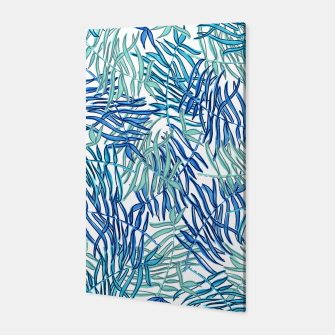 Thumbnail image of Tropical in blues Canvas, Live Heroes