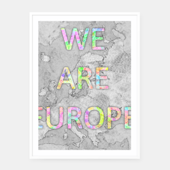 Thumbnail image of byi_eu Framed poster, Live Heroes