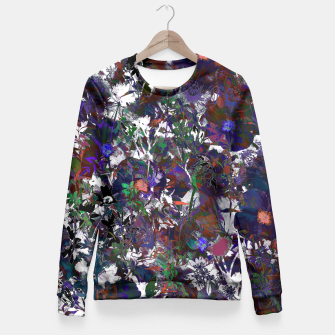 Thumbnail image of Floral Camouflage Fitted Waist Sweater, Live Heroes