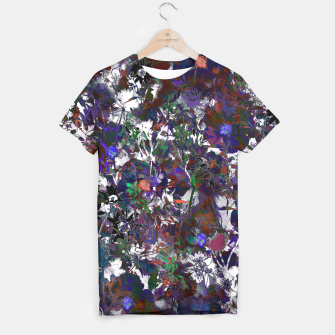 Thumbnail image of Floral Camouflage T-shirt, Live Heroes