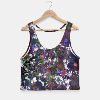 Thumbnail image of Floral Camouflage Crop Top, Live Heroes