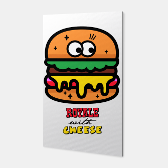 Thumbnail image of Royale with cheese Canvas, Live Heroes