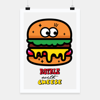 Thumbnail image of Royale with cheese Poster, Live Heroes
