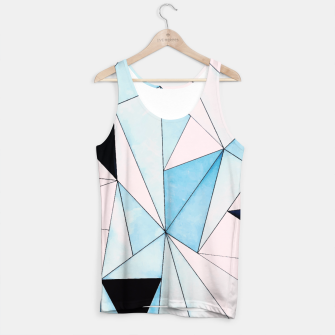 Thumbnail image of Geometric Washout Tank Top, Live Heroes