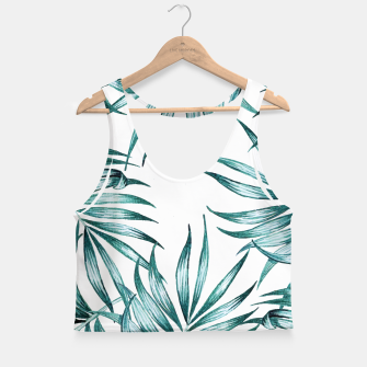 Thumbnail image of Island Life Crop Top, Live Heroes