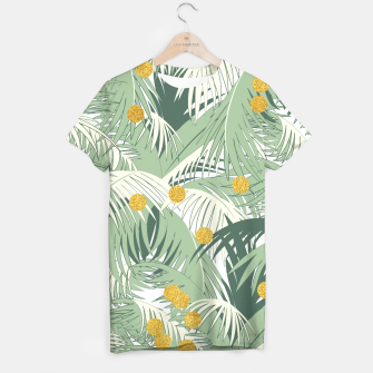 Palm and gold T-shirt thumbnail image