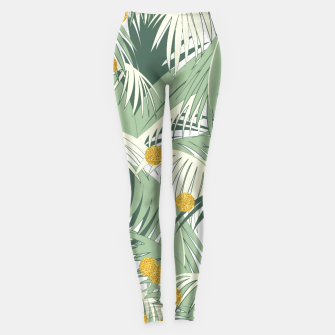 Palm and gold Leggings thumbnail image