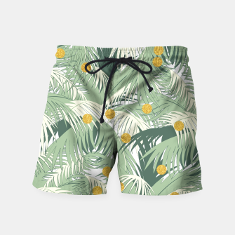 Palm and gold Swim Shorts thumbnail image