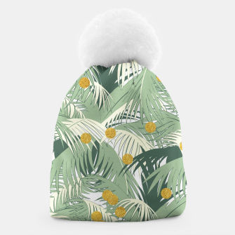 Palm and gold Beanie thumbnail image