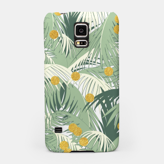 Palm and gold Samsung Case thumbnail image