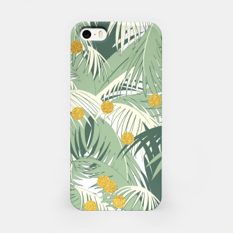 Palm and gold iPhone Case thumbnail image
