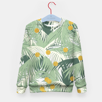Palm and gold Kid's Sweater thumbnail image