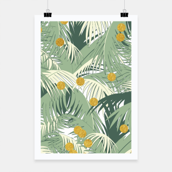 Palm and gold Poster thumbnail image